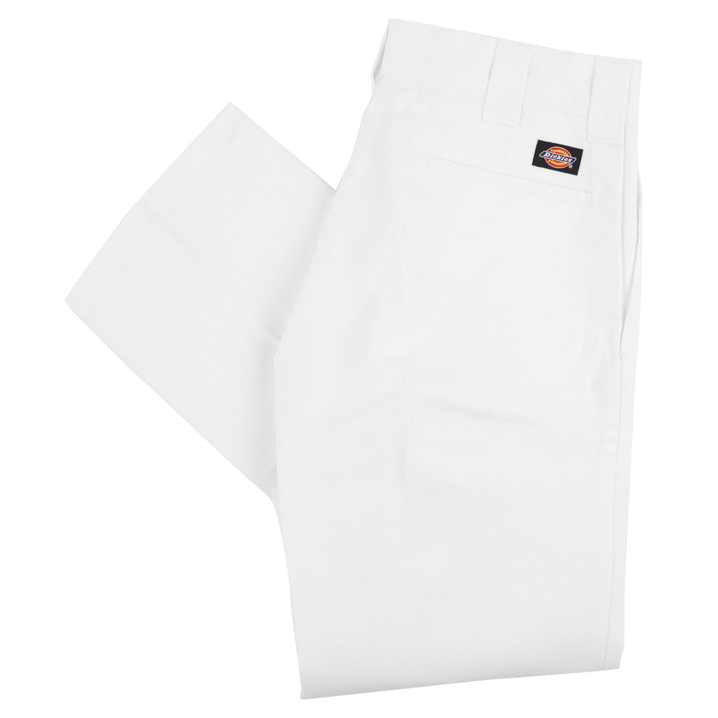 Dickies 873 Slim Straight Work Pant in White