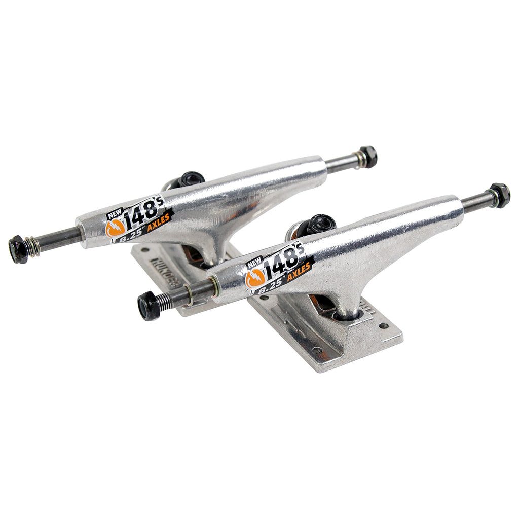 Thunder Trucks 148 Hi Skateboard Trucks in Raw