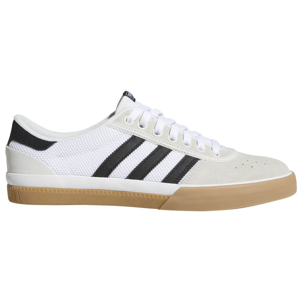 Adidas Lucas Premiere Shoes in Crystal White / Core Black / Gum4