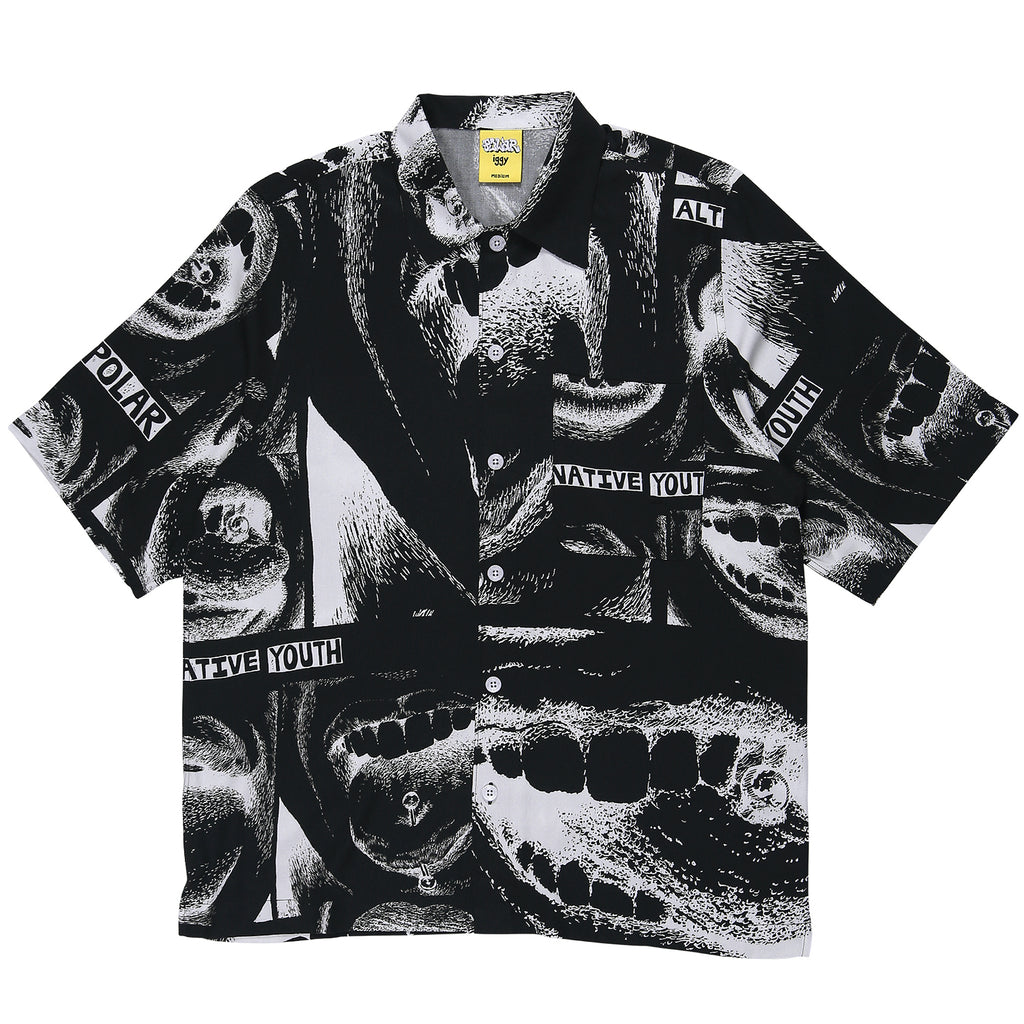 Polar Skate Co x Iggy NYC Alternative Youth Shirt in Black