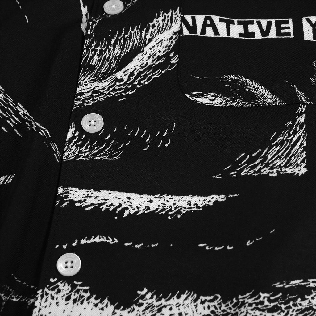 Polar Skate Co x Iggy NYC Alternative Youth Shirt in Black - Detail 1