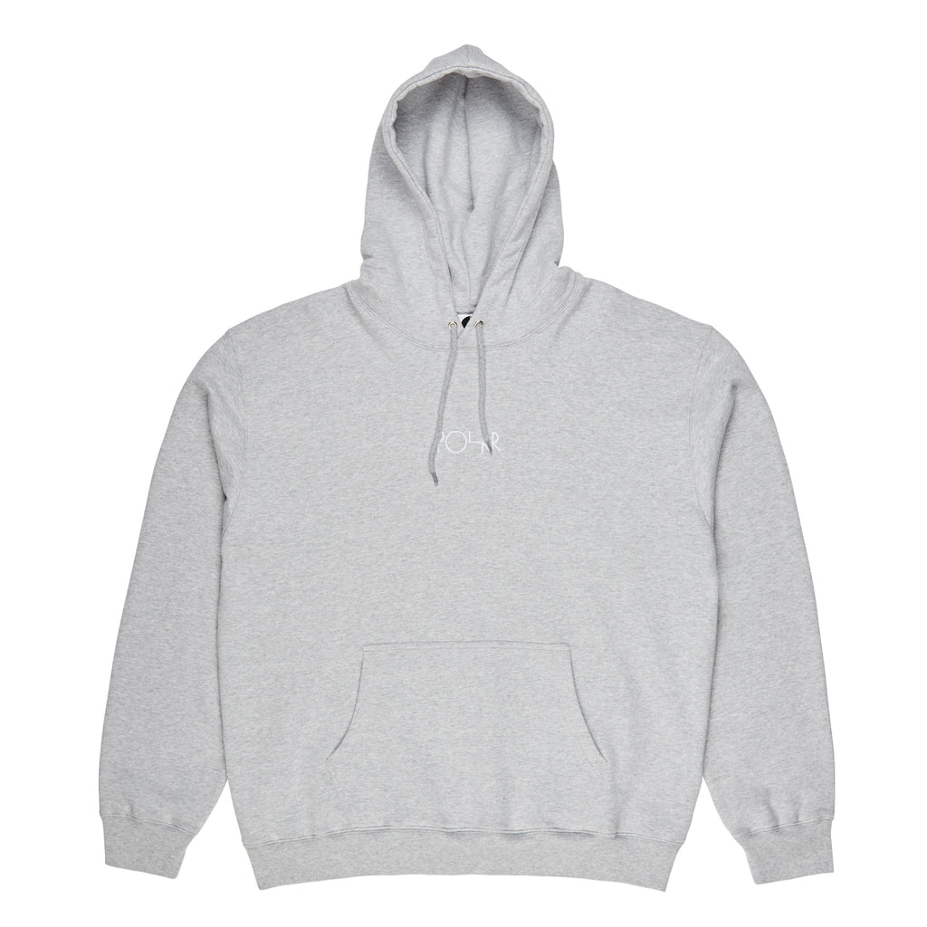 Polar Skate Co American Fleece Hoodie in Sport Grey