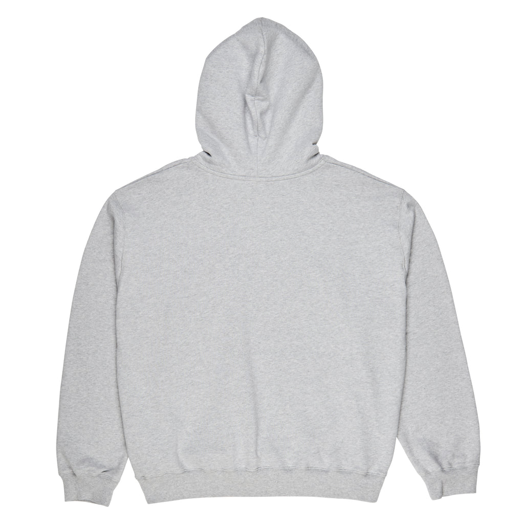 Polar Skate Co American Fleece Hoodie in Sport Grey - Back