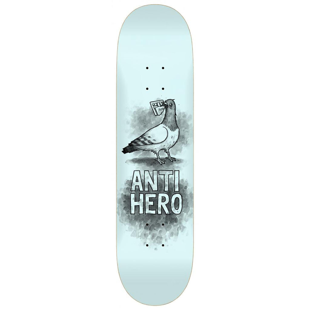 "Anti Hero Budgie Skateboard Deck 8.06"" - Bottom"