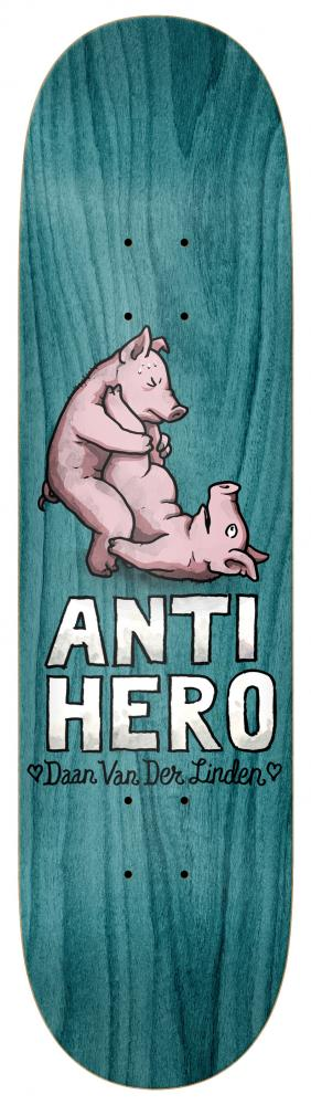 Anti Hero Skateboards Daan Lovers II Skateboard Deck