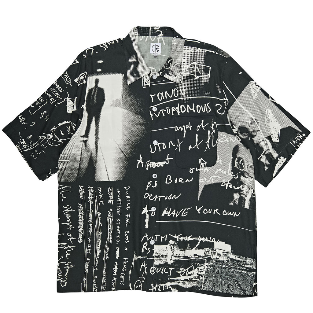 Polar Skate Co Strongest Notes Art Shirt in Black