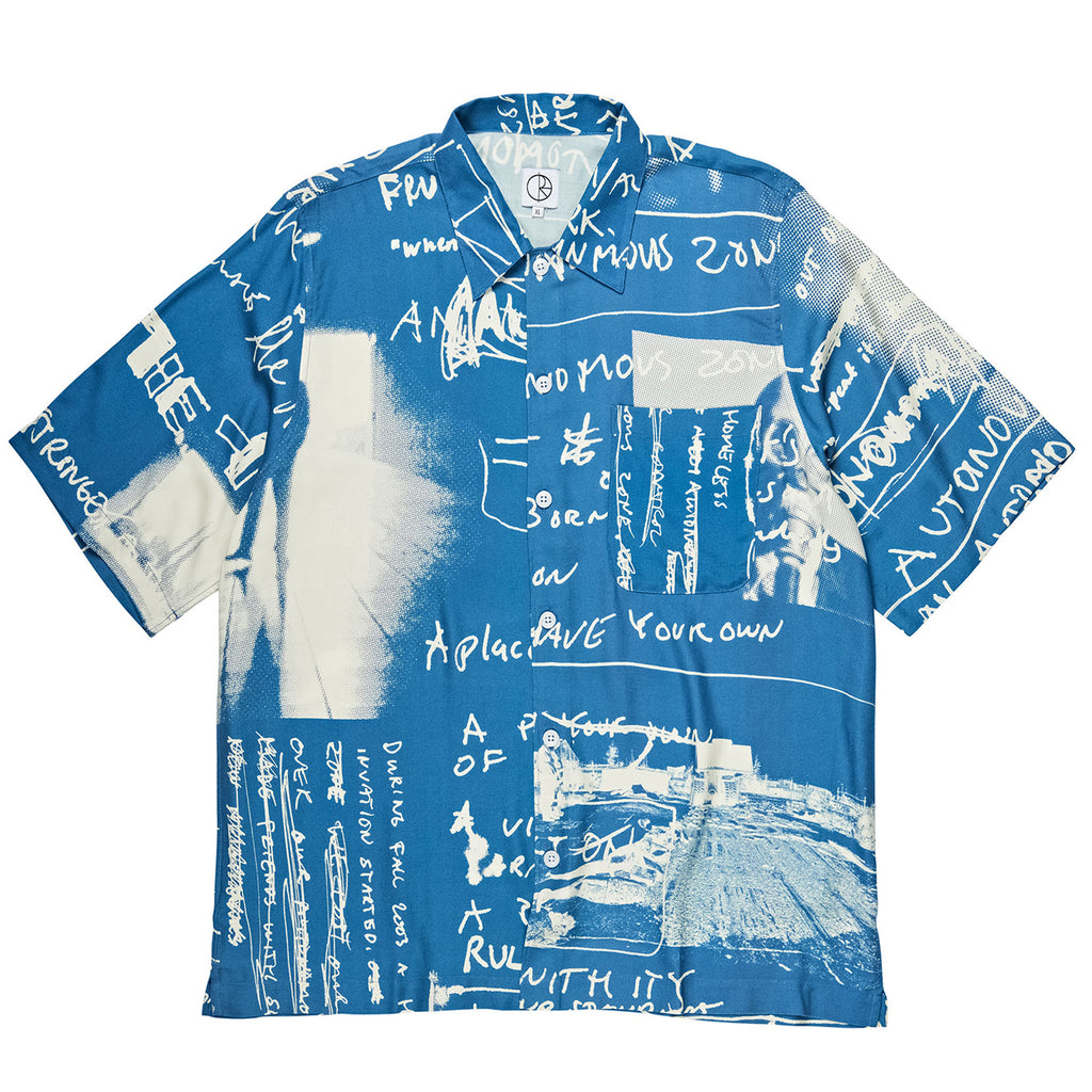 Polar Skate Co Strongest Notes Art Shirt in Blue