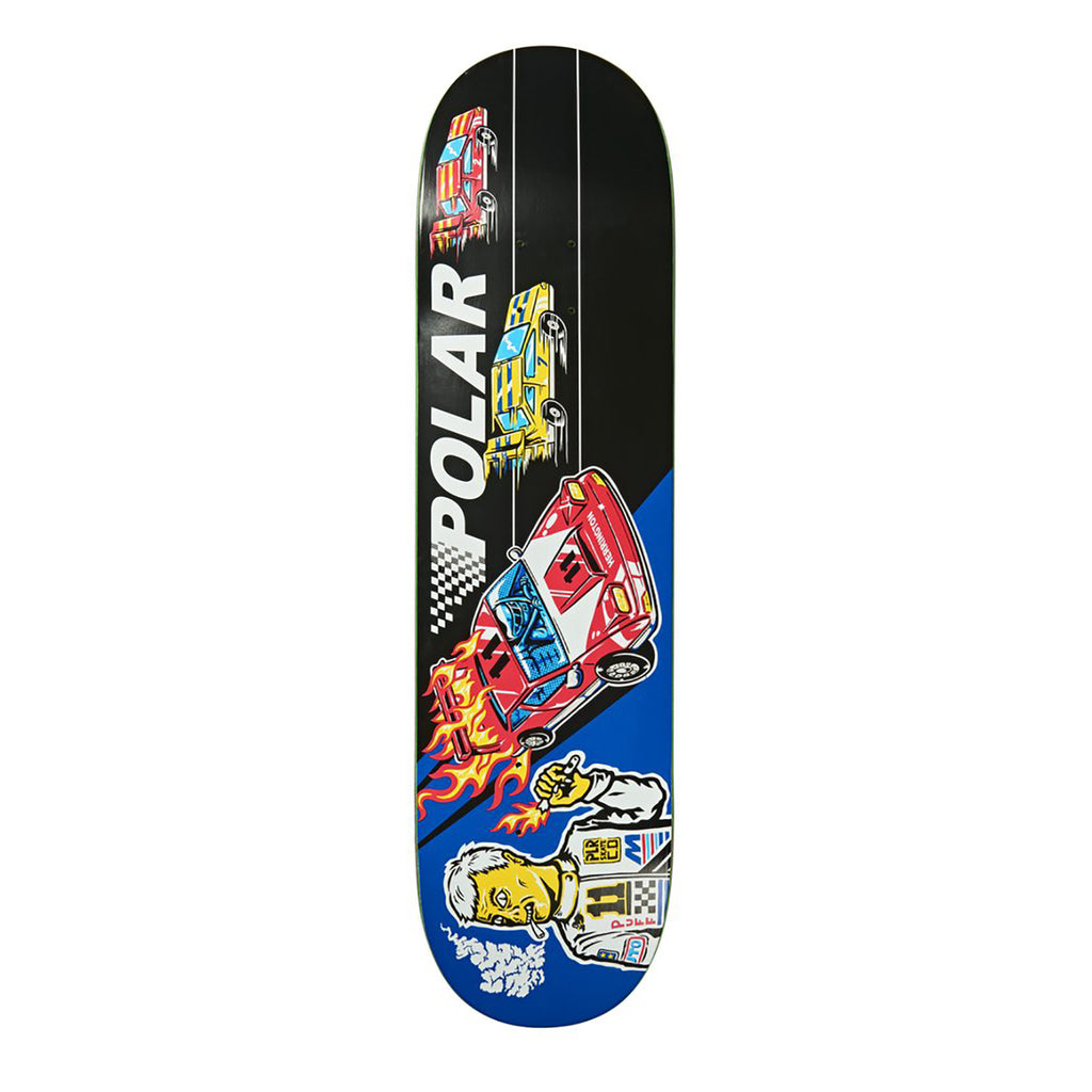 Polar Skate Co Aaron Herrington Reptilian Racer Skateboard Deck in 8.25""