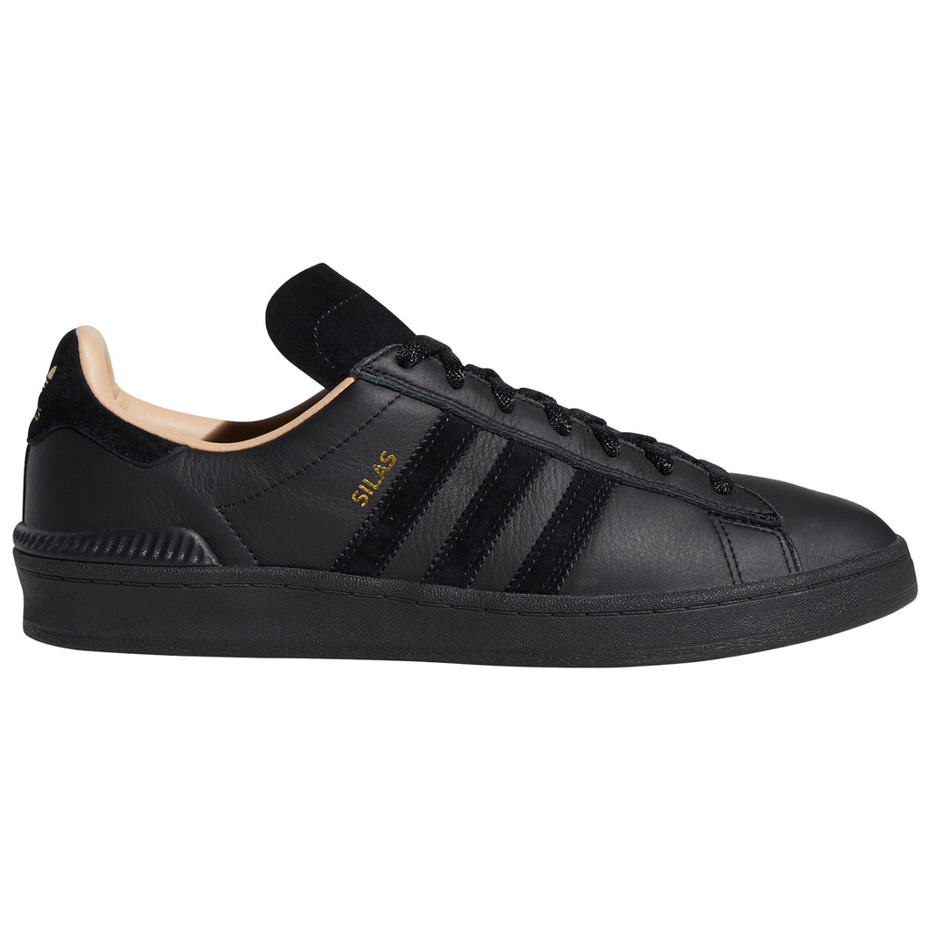 Adidas Silas Campus ADV Shoes in Core Black / Core Black / St Pale Nude