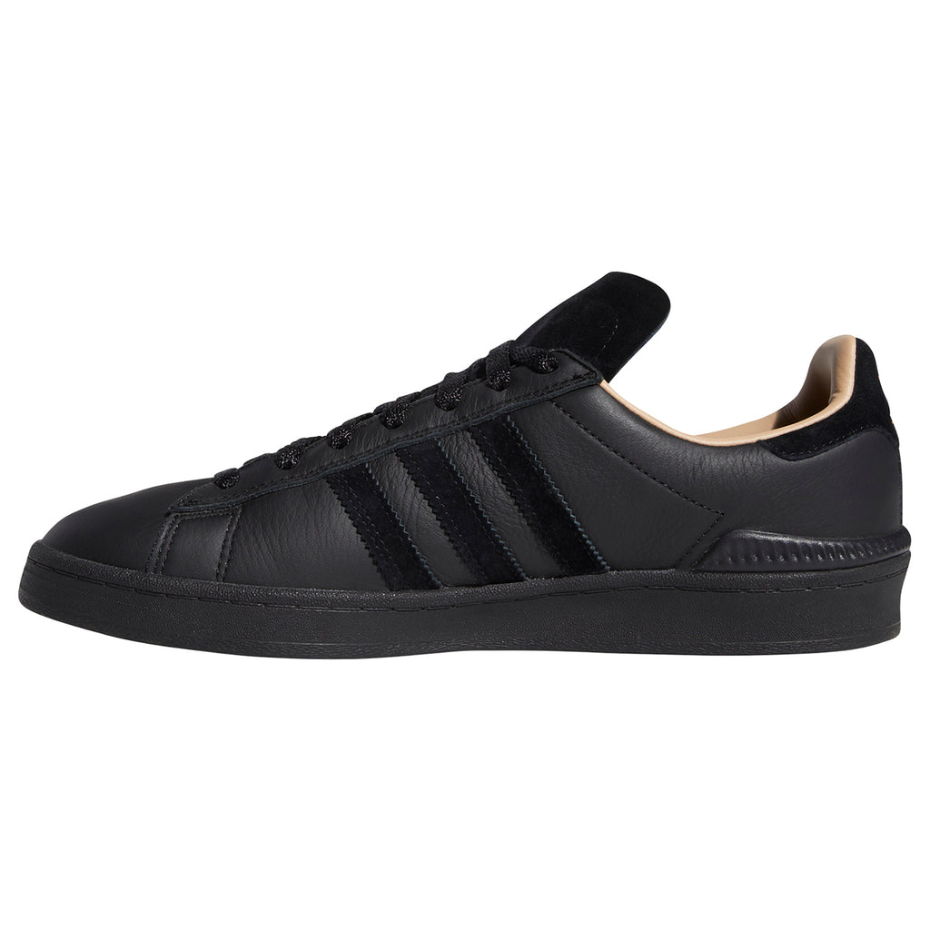 Adidas Silas Campus ADV Shoes in Core Black / Core Black / St Pale Nude - Side