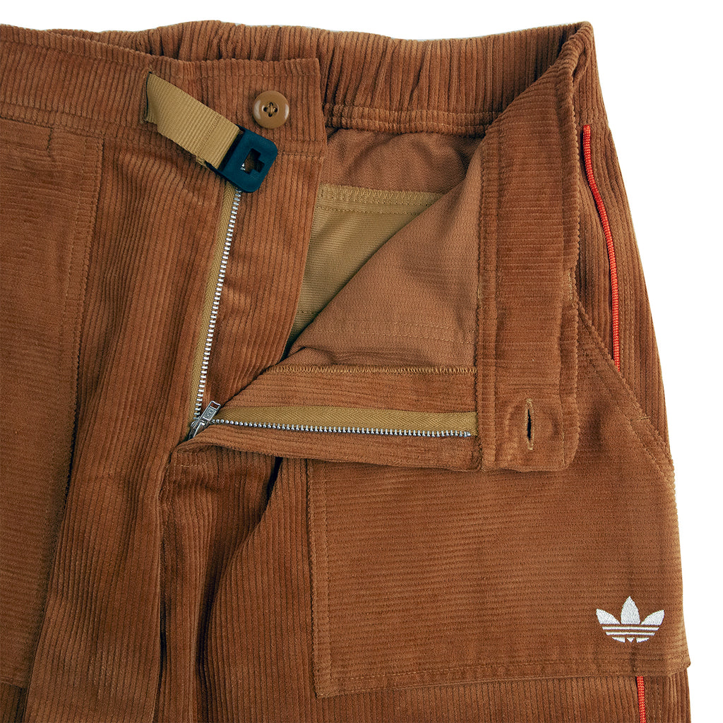 Adidas Skateboarding Cord Pants in Mesa - Zip Open