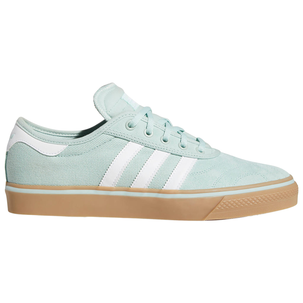 Adidas Adi-Ease Premiere Shoes in Ash Green / Footwear White / Gum4