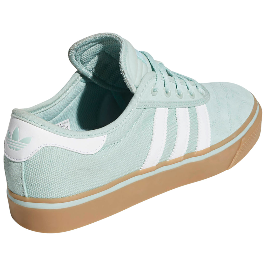 Adidas Adi-Ease Premiere Shoes in Ash Green / Footwear White / Gum4 - Side 2
