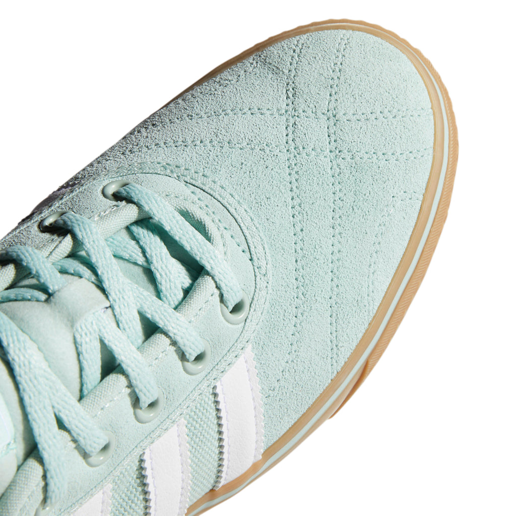 Adidas Adi-Ease Premiere Shoes in Ash Green / Footwear White / Gum4 - Toe