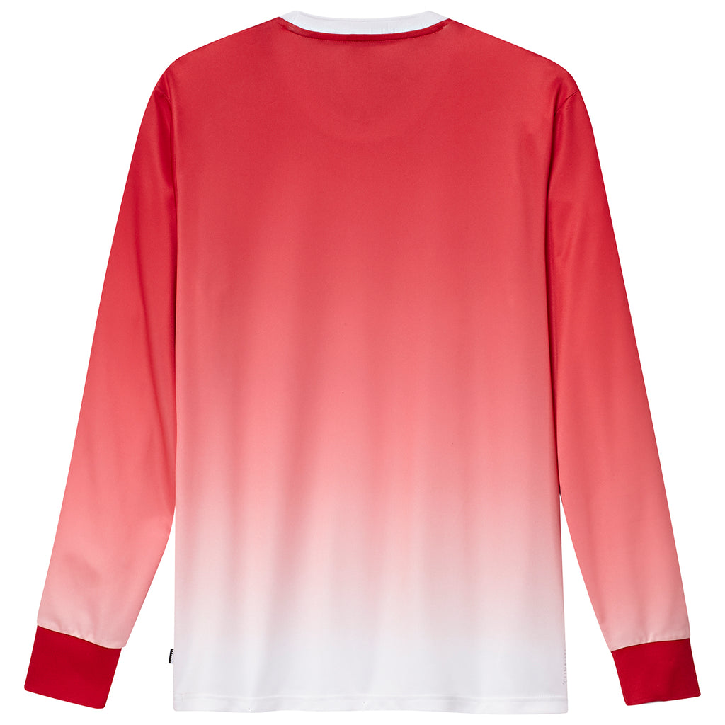 Adidas x Evisen Jersey in Scarlet / White - Back