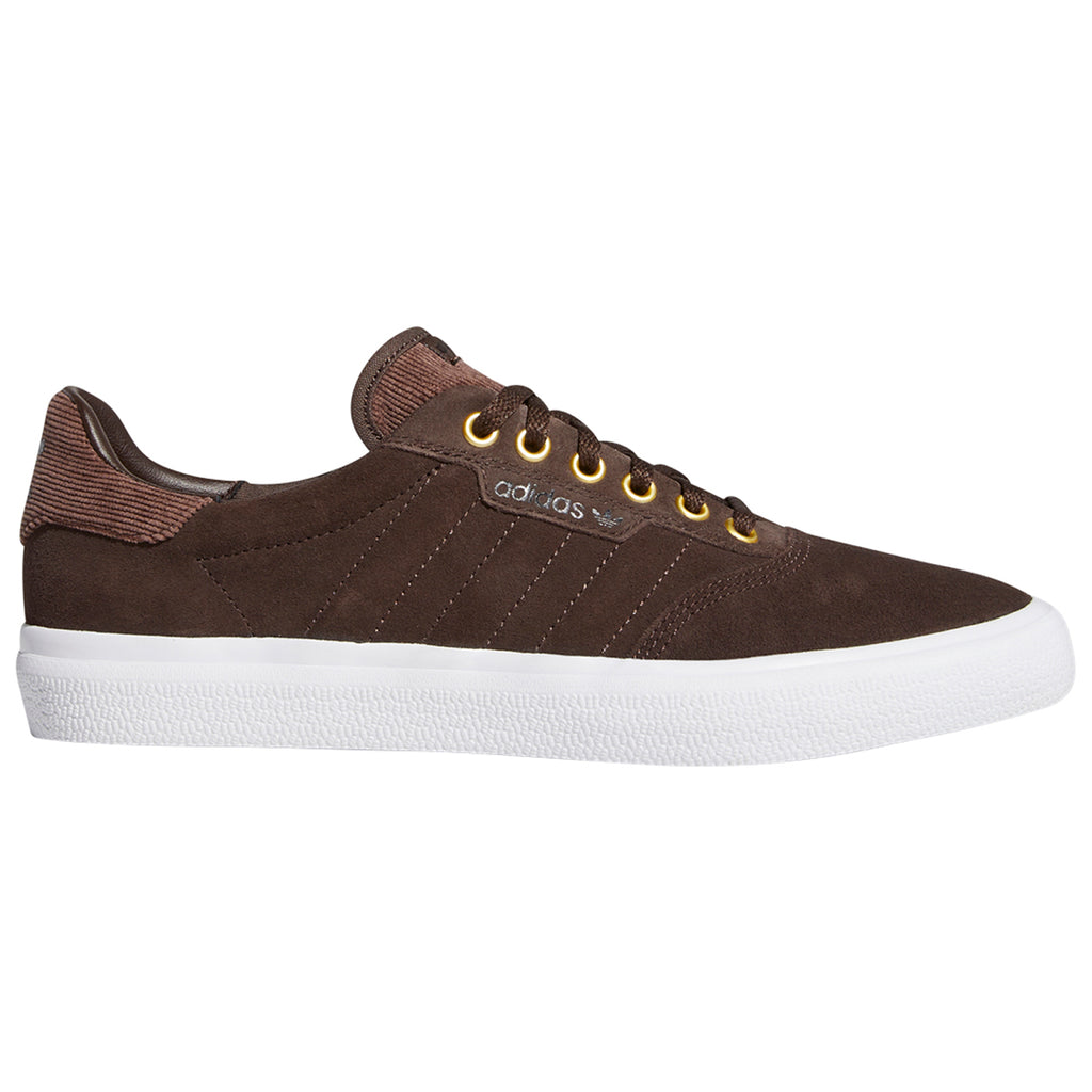 Adidas 3MC Shoes in Brown / Footwear White / Gold Metallic