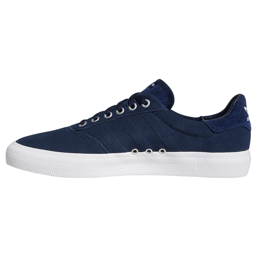 Adidas 3MC Shoes in Collegiate Navy / Footwear White / Silver Metallic - Detail 2