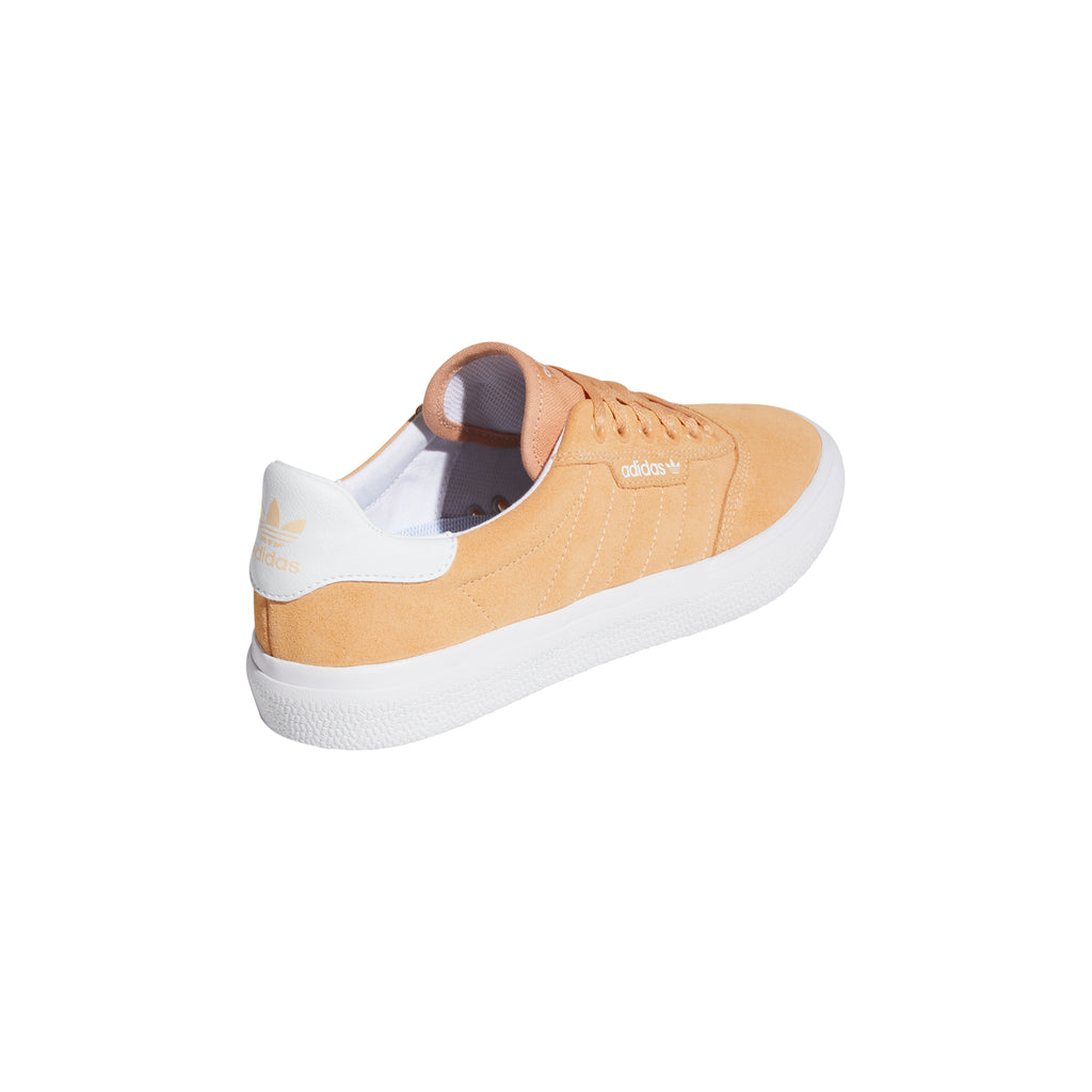 Adidas 3MC Shoes in Glow Orange / Footwear White / Footwear White - Heel