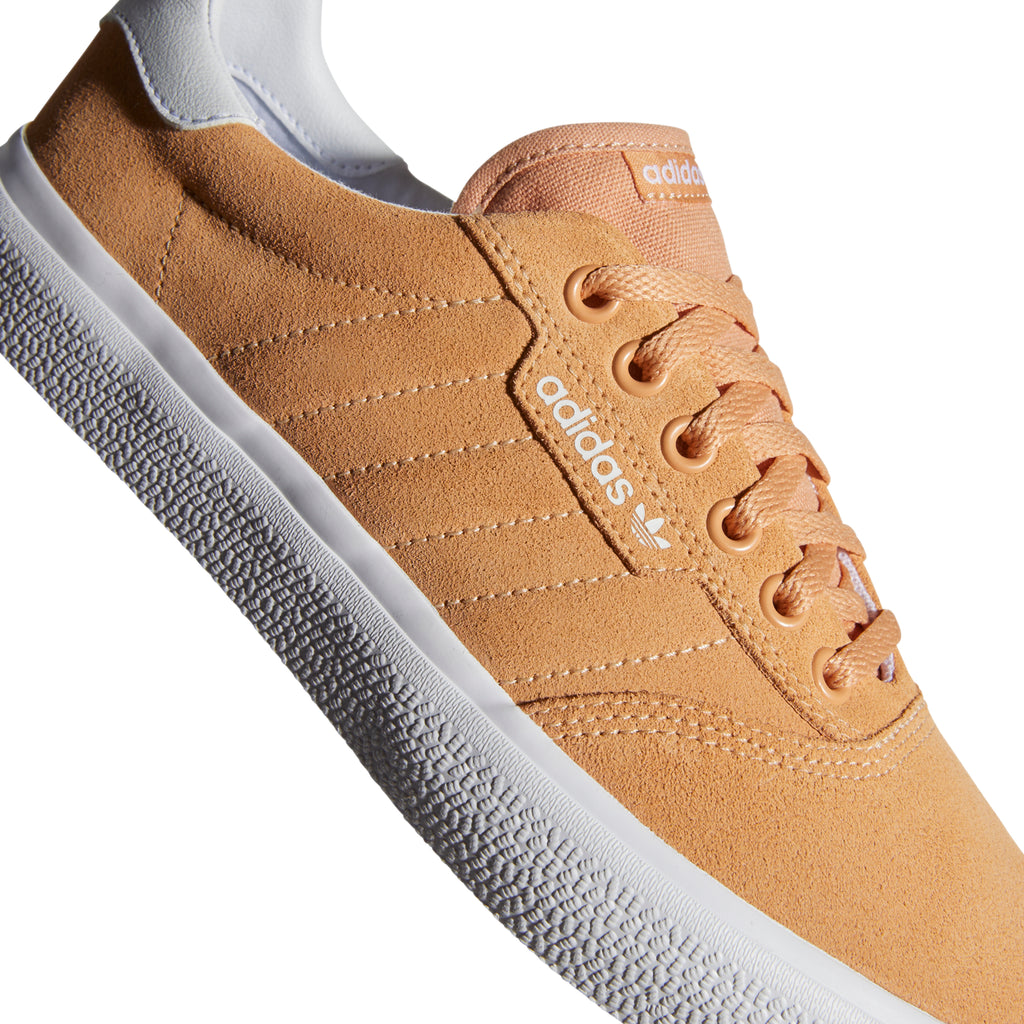 Adidas 3MC Shoes in Glow Orange / Footwear White / Footwear White - Detail