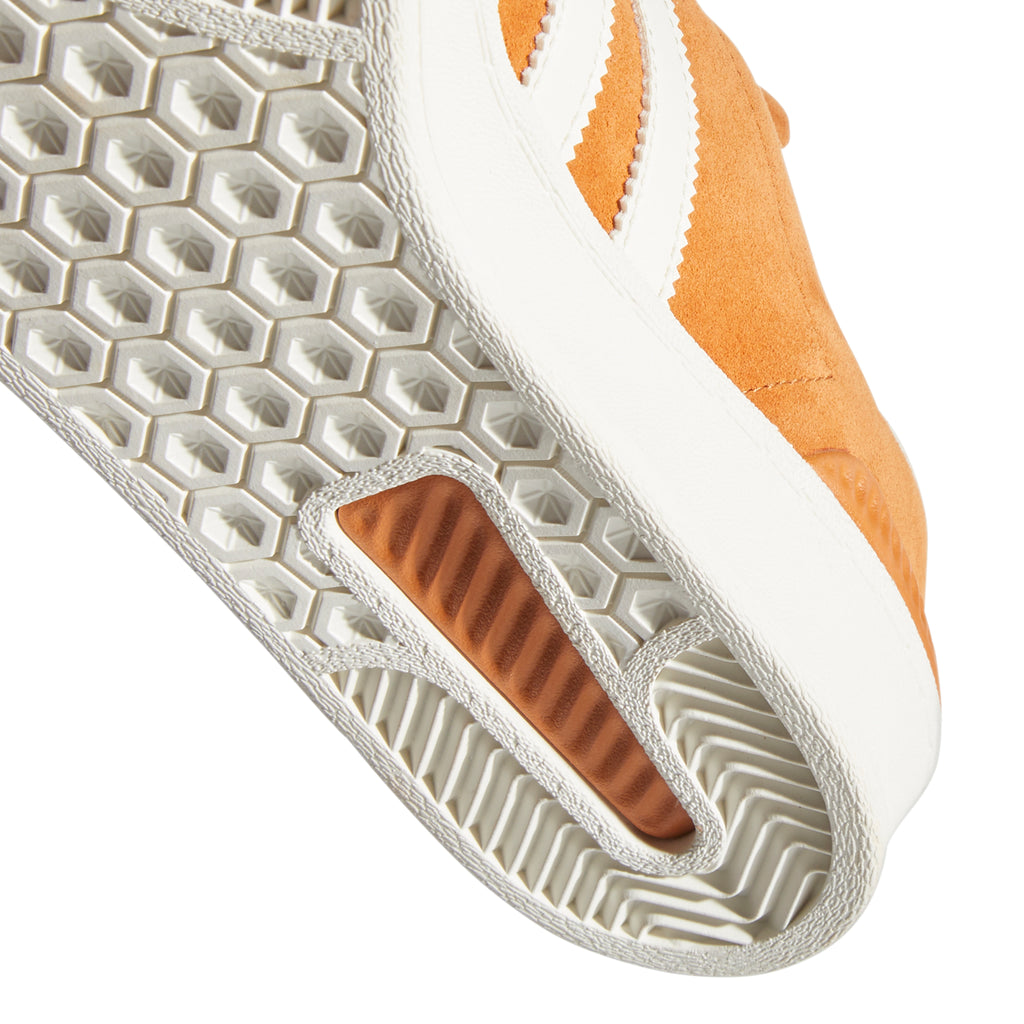 Adidas Campus ADV Shoes in Tech Copper / Chalk White / Gold Metallic - Sole