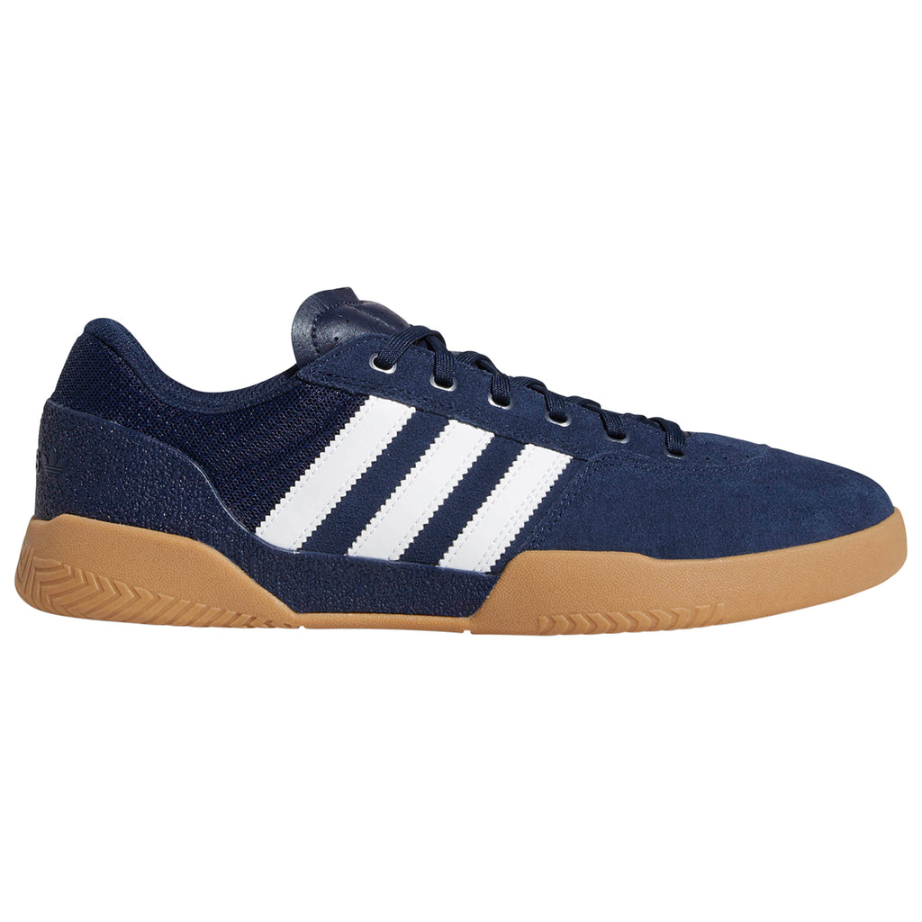 Adidas City Cup Shoes in Collegiate Navy / Footwear White / Gum 4