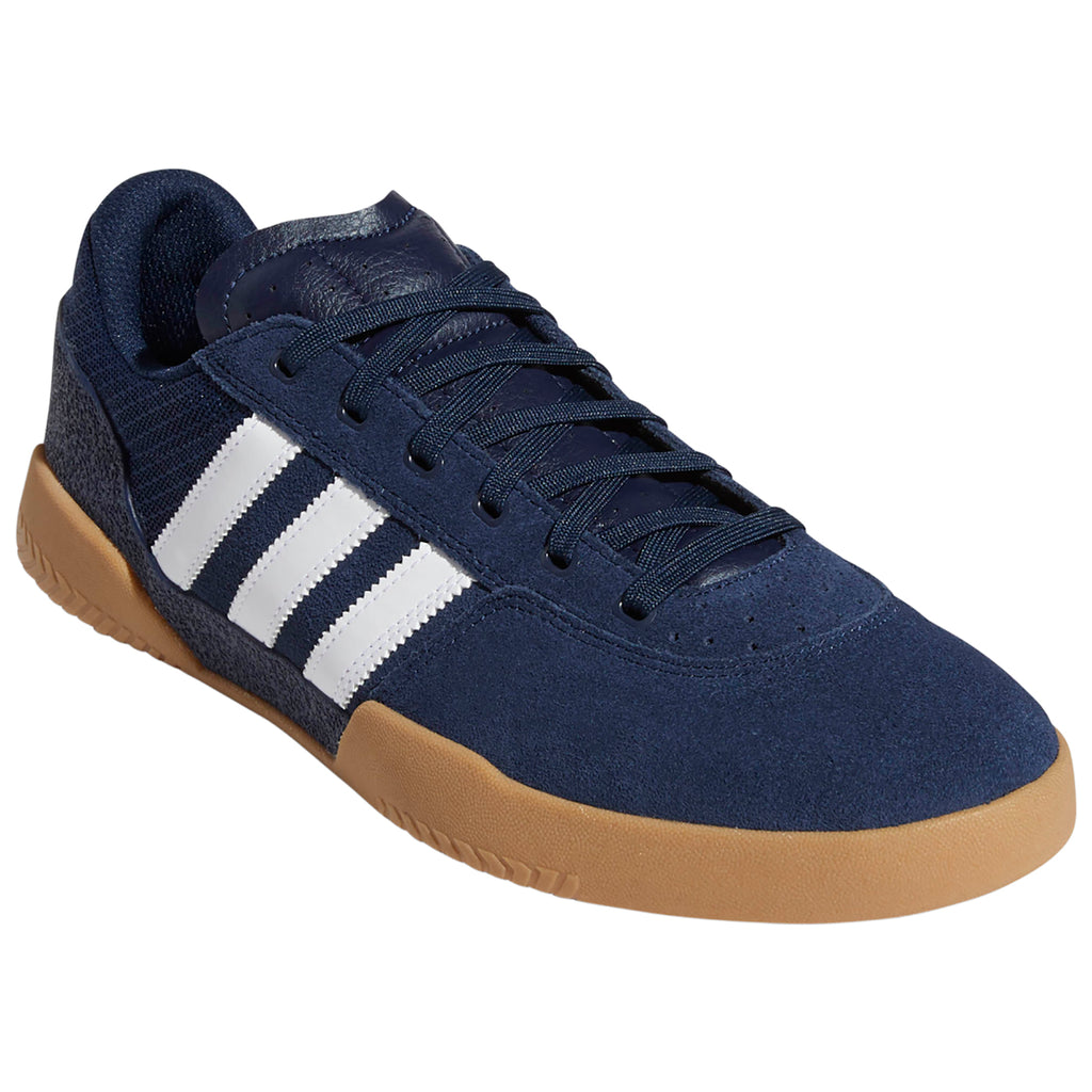 Adidas City Cup Shoes in Collegiate Navy / Footwear White / Gum 4 - Detail