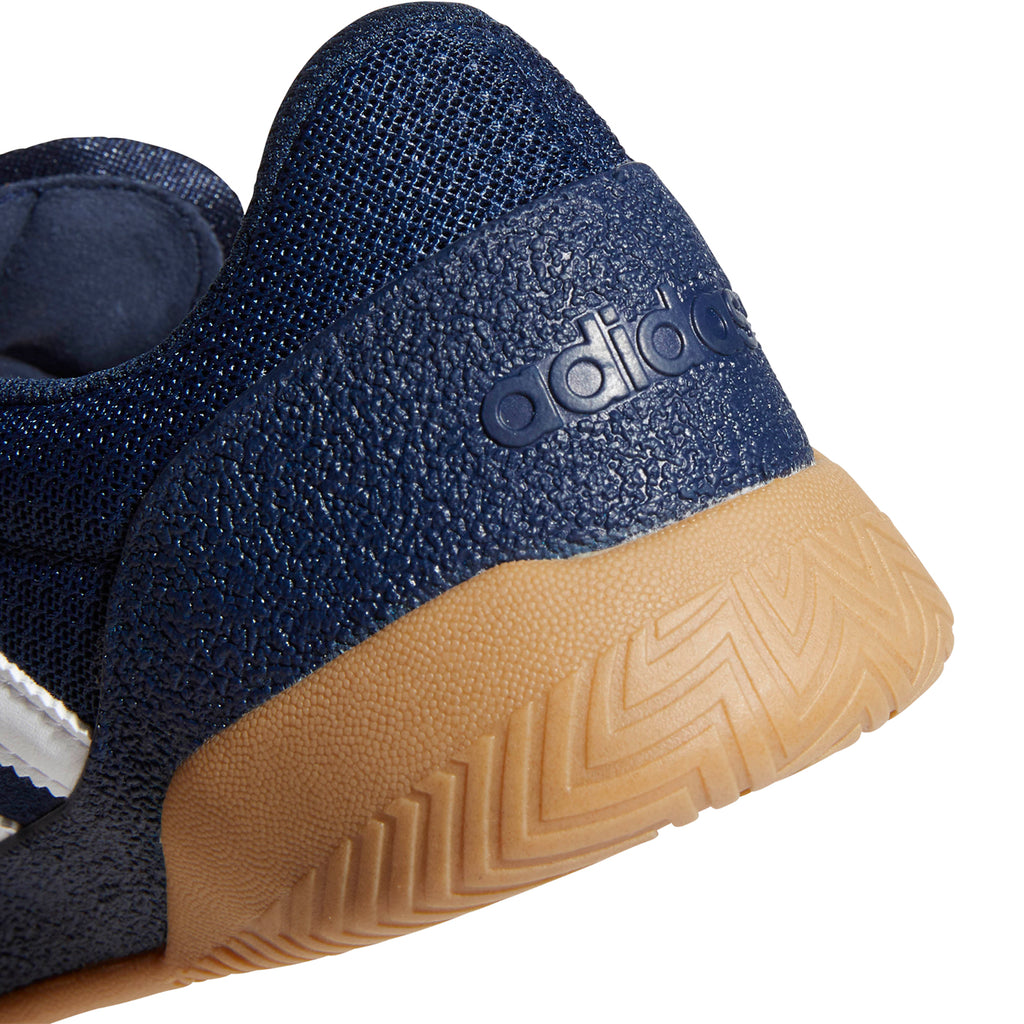 Adidas City Cup Shoes in Collegiate Navy / Footwear White / Gum 4 - Back