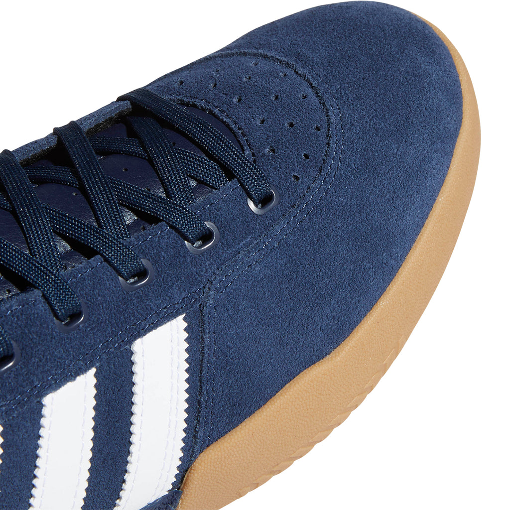 Adidas City Cup Shoes in Collegiate Navy / Footwear White / Gum 4 - Toe