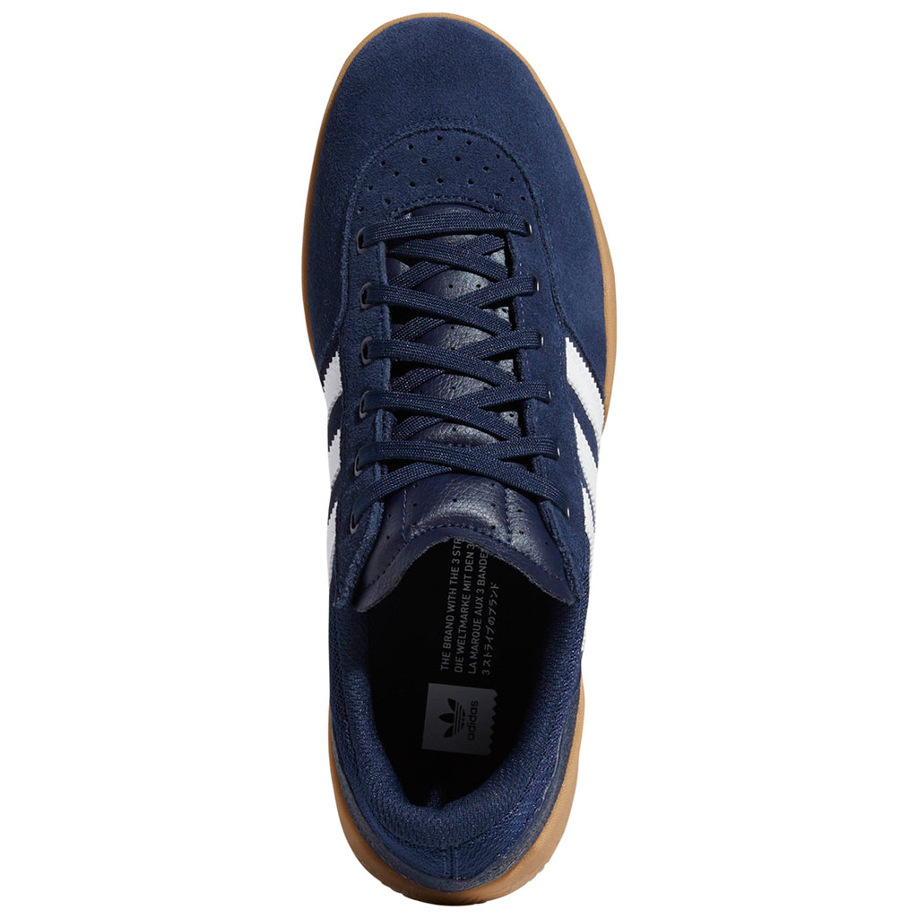 Adidas City Cup Shoes in Collegiate Navy / Footwear White / Gum 4 - Top