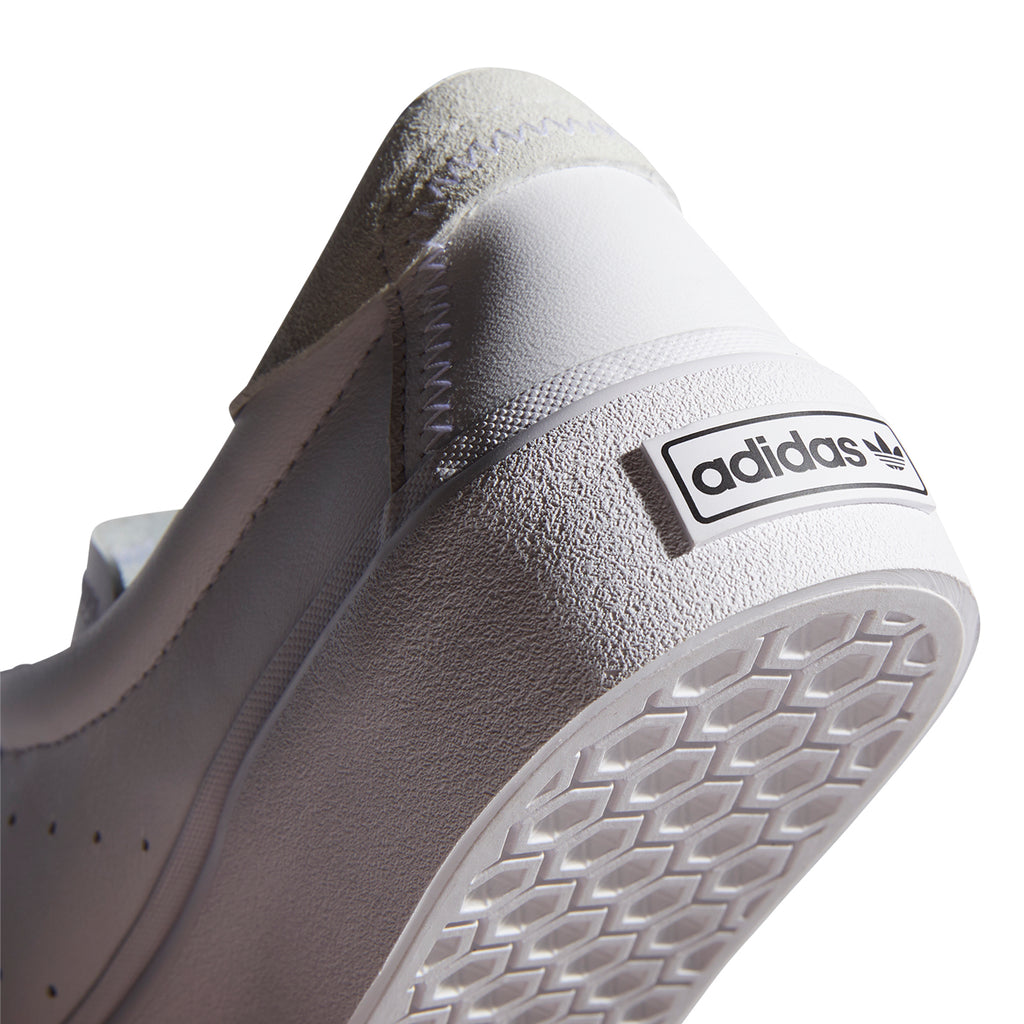 Adidas Skateboarding Coronado Shoes in Footwear White / Crystal White - Logo