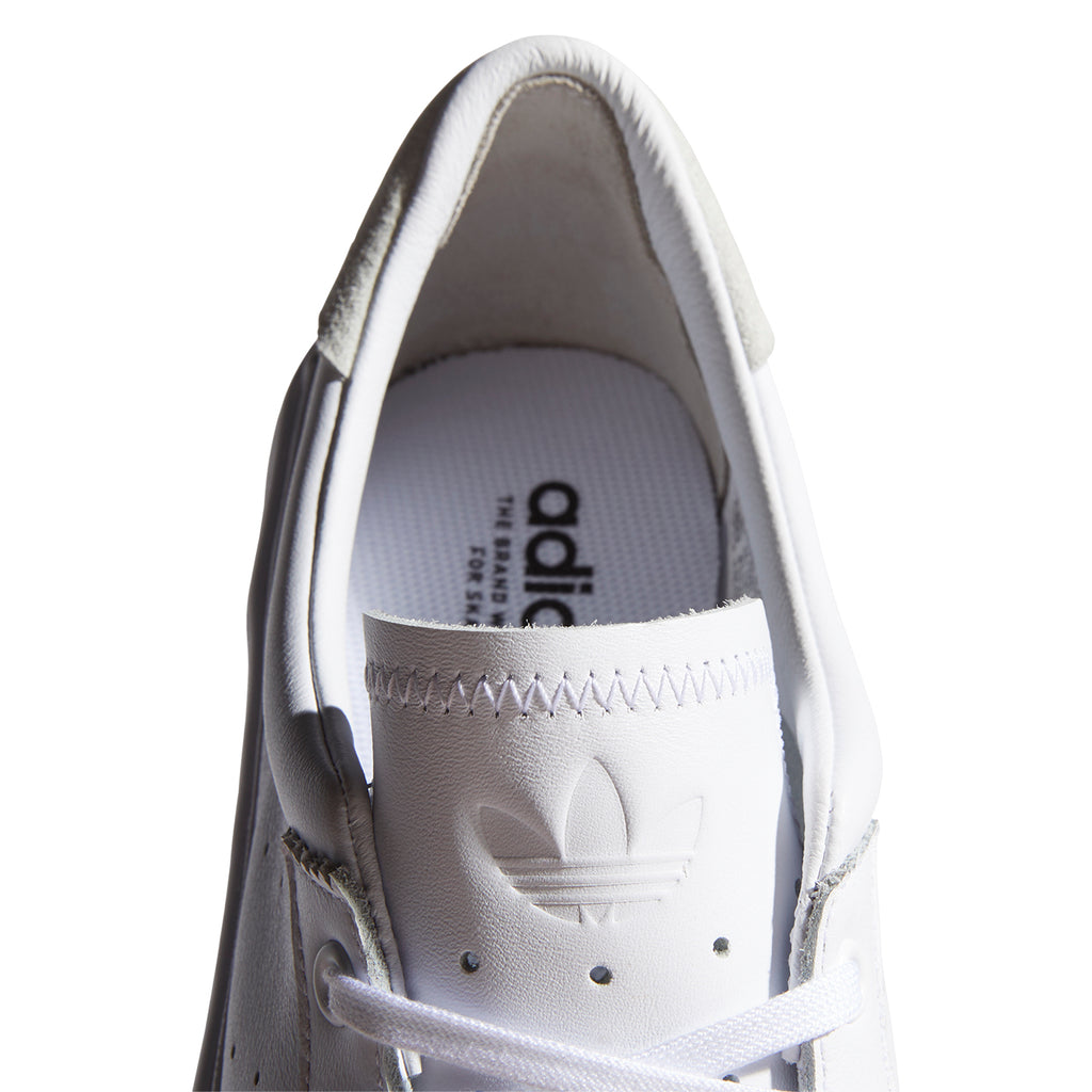 Adidas Skateboarding Coronado Shoes in Footwear White / Crystal White - Inside