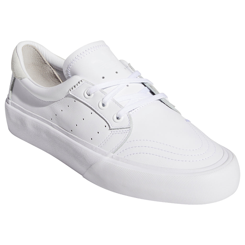 Adidas Skateboarding Coronado Shoes in Footwear White / Crystal White - Detail
