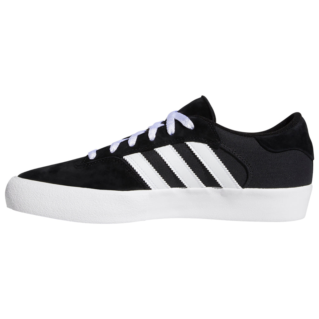 Adidas Skateboarding Matchbreak Super Shoes in Core Black / Footwear White / Gold Metallic - Inside