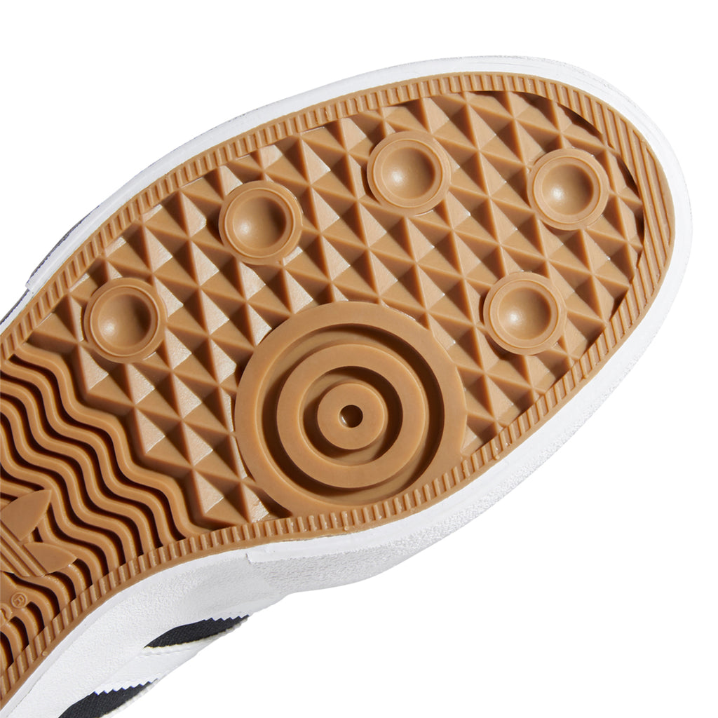 Adidas Skateboarding Matchbreak Super Shoes in Core Black / Footwear White / Gold Metallic - Sole 2