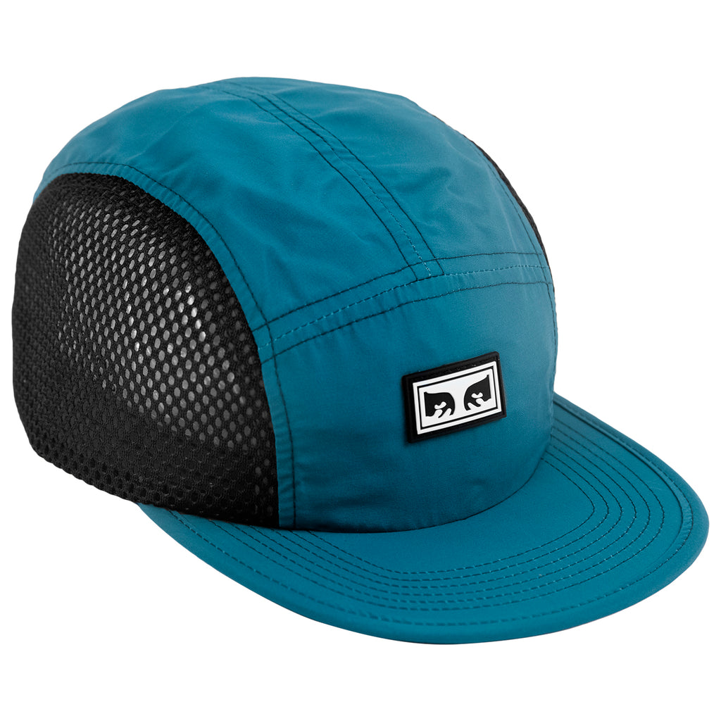 Obey Clothing Alchemy 5 Panel Cap in Fresh Teal