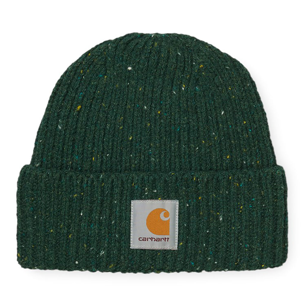 Carhartt WIP Anglistic Beanie in Bottle Green