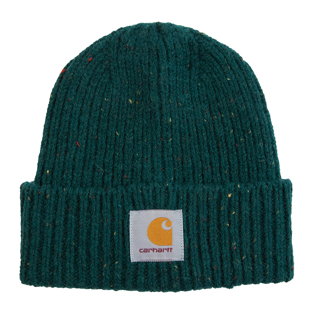 Carhartt WIP Anglistic Beanie in Dark Fir Heather