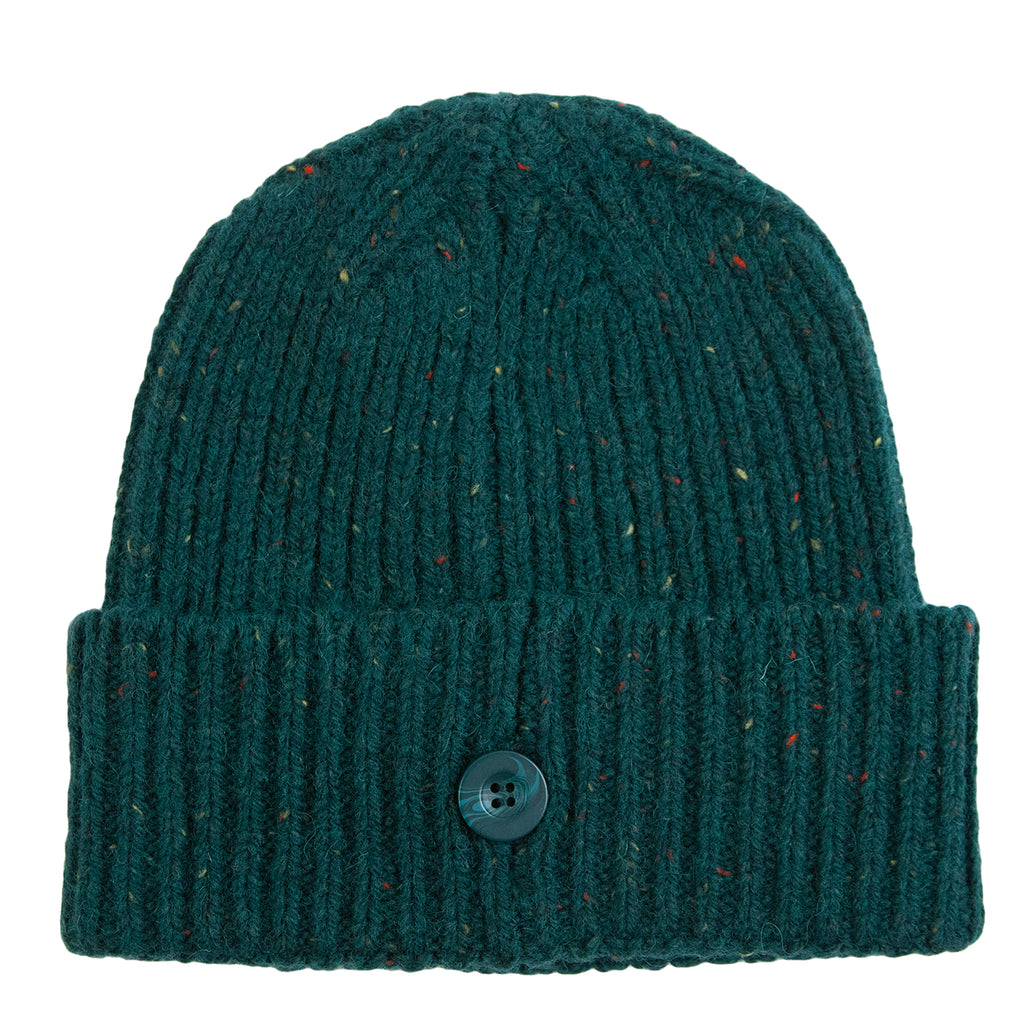 Carhartt WIP Anglistic Beanie in Dark Fir Heather - Back
