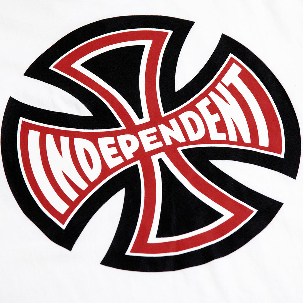 Independent Trucks Ante T Shirt in White - Logo Print