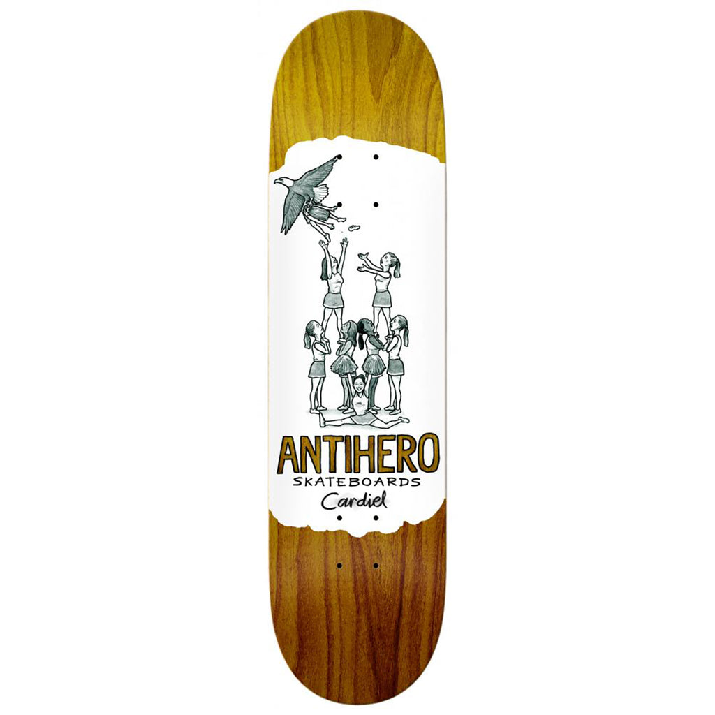 Anti Hero Skateboards John Cardiel Oblivion Skateboard Deck in 8.38""