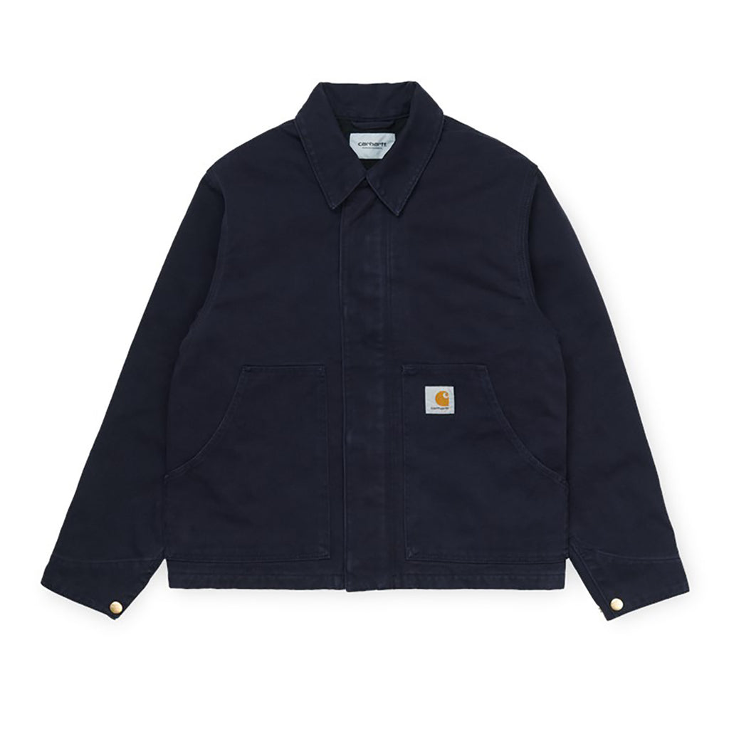 Carhartt WIP Arcan Jacket in Dark Navy Rinsed