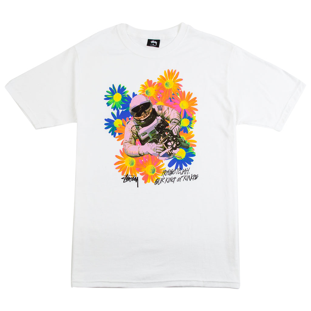 Stussy Astronaut T Shirt in White