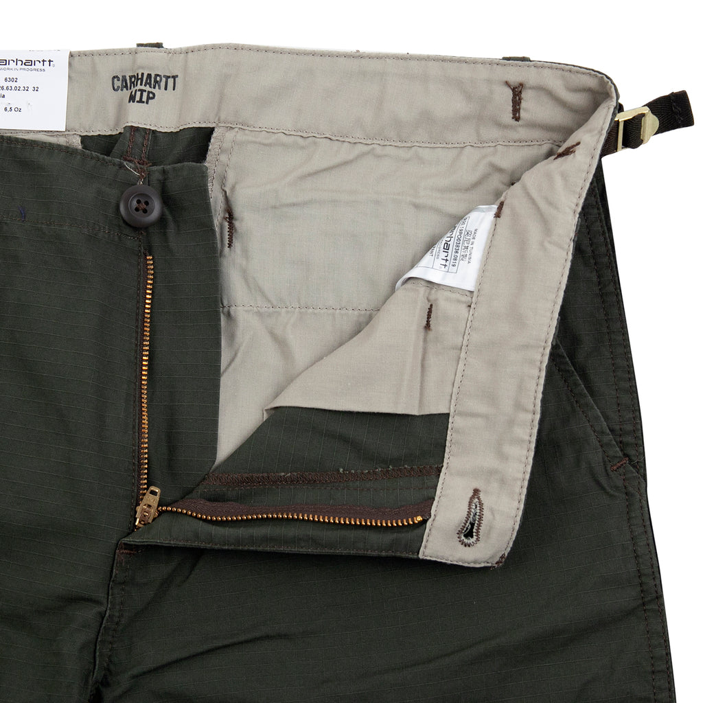 Carhartt WIP Aviation Pant in Cypress - Unzipped