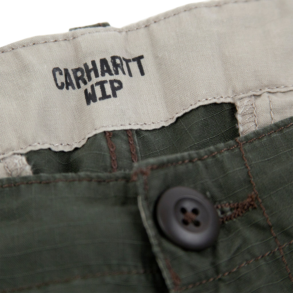 Carhartt WIP Aviation Pant in Cypress - Button