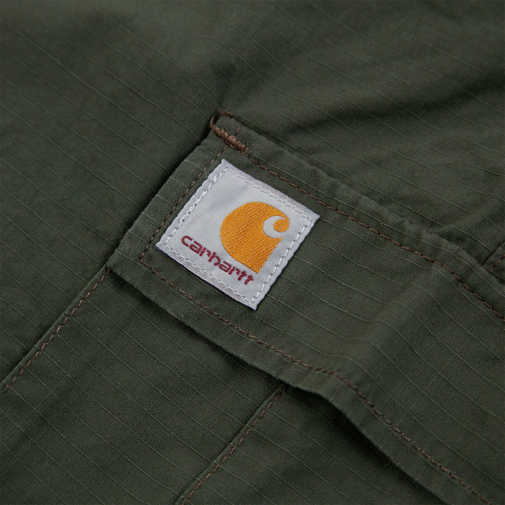 Carhartt WIP Aviation Pant in Cypress - Label