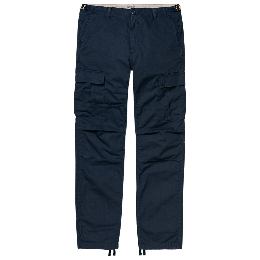 Carhartt WIP Aviation Pant in Dark Navy