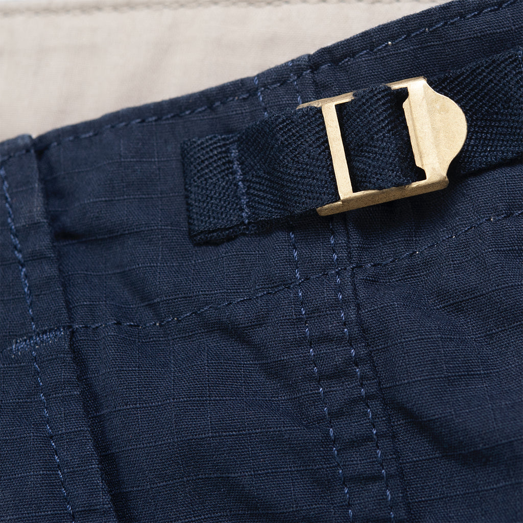 Carhartt WIP Aviation Pant in Dark Navy - Buckle