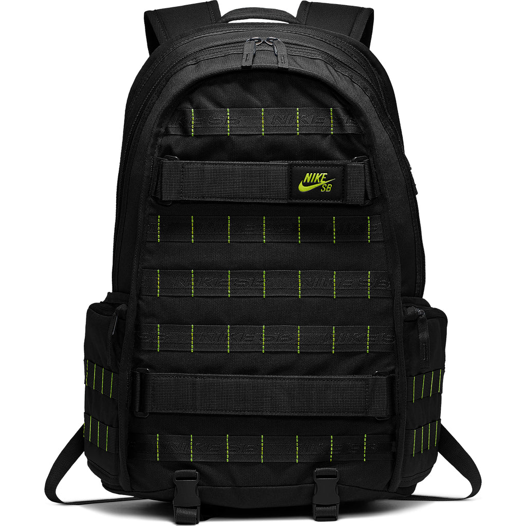 Nike SB RPM Graphic Backpack in Black / Black / Cyber