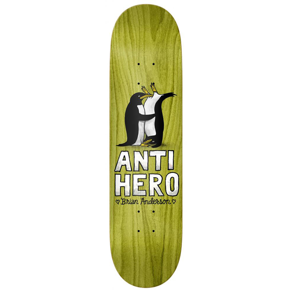 Anti Hero Skateboards B.A Lovers II Skateboard Deck