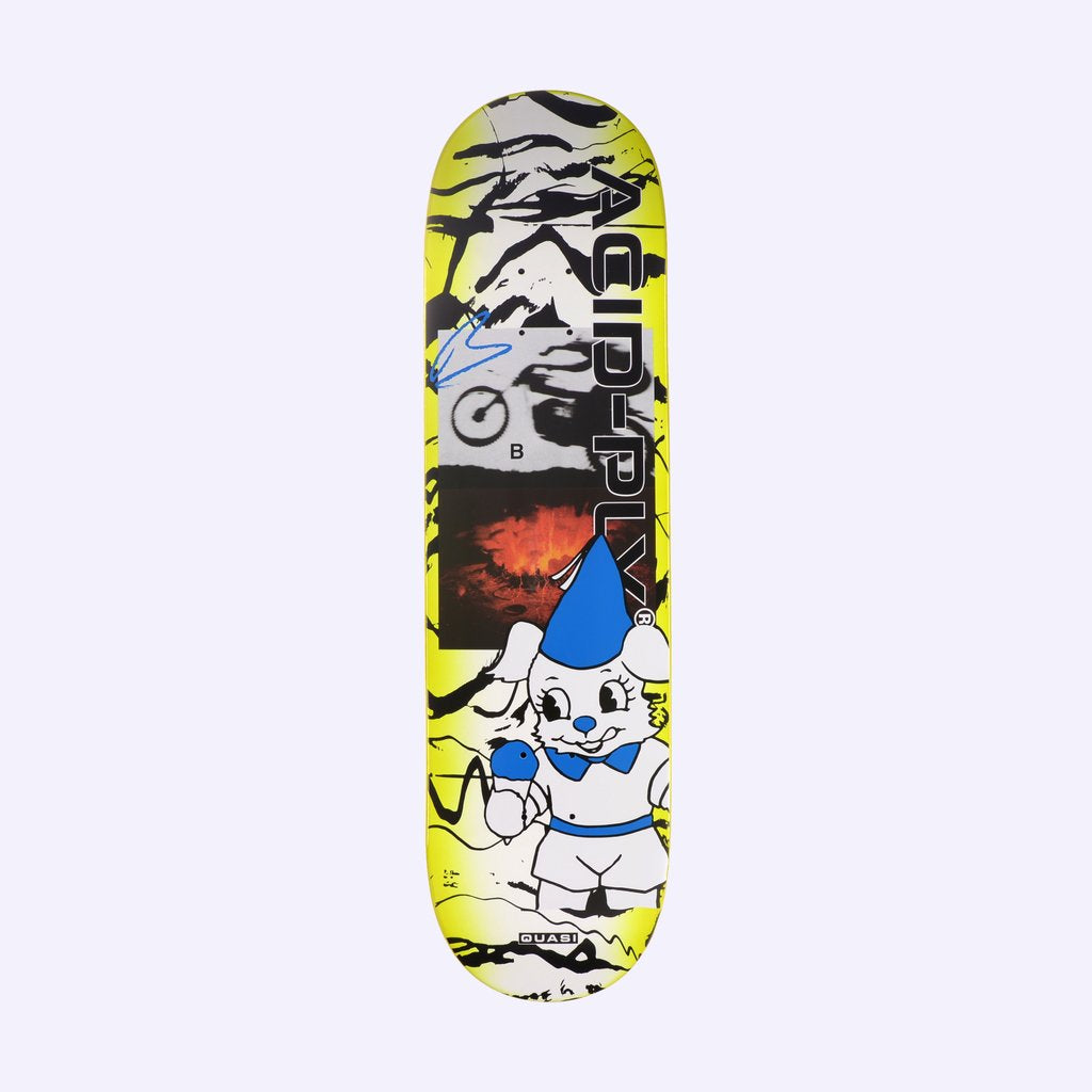 "Quasi de Keyzer 'Acid-Ply' Skateboard Deck 8.375"" - Bottom"